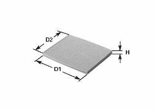 cleanfilters nc2167ca