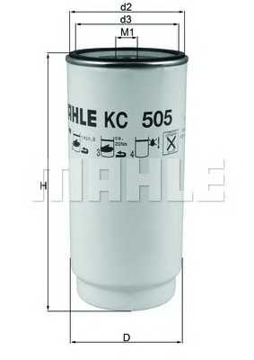 mahleoriginal kc505d